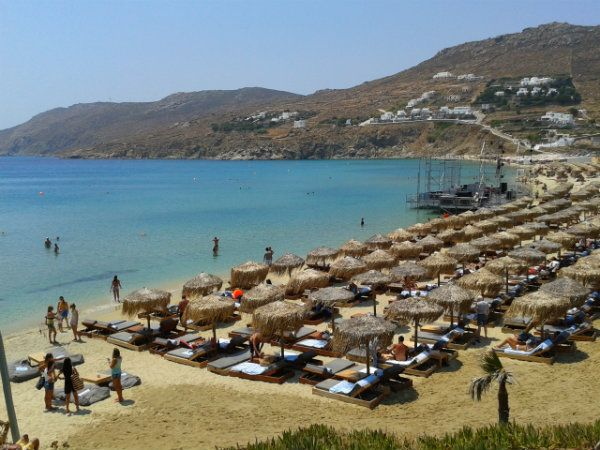 Kalo Livadi Beach  Mykonos Transport, Transfers, Tours