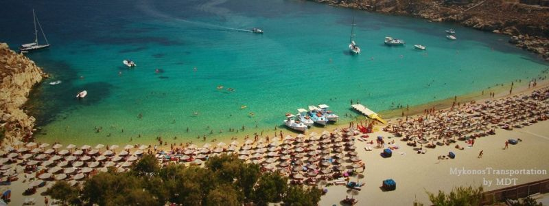 Best Island Beaches For Partying Mykonos St Barts: Mykonos Transportation, Transfers
